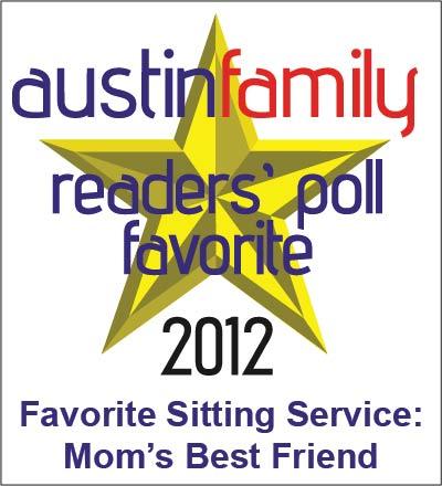 Favorite Babysitting Service 2012 Logo